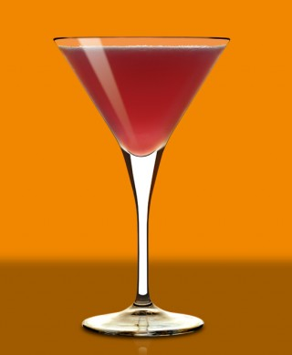 Cointreau martini glass