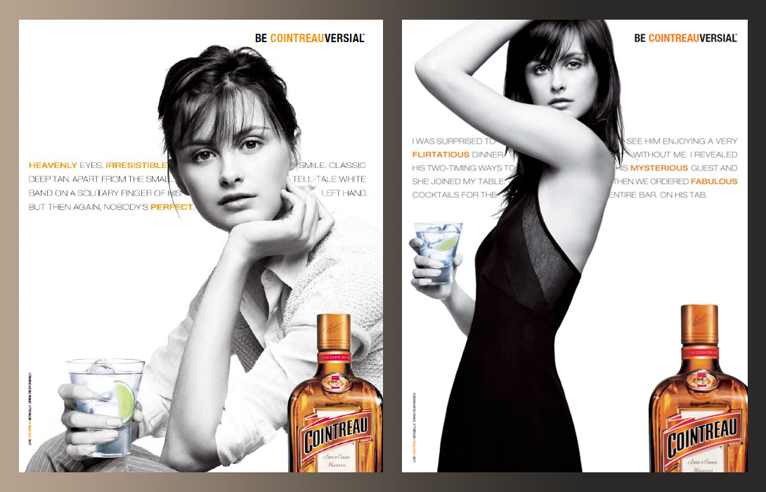 Cointreau campaign master ads