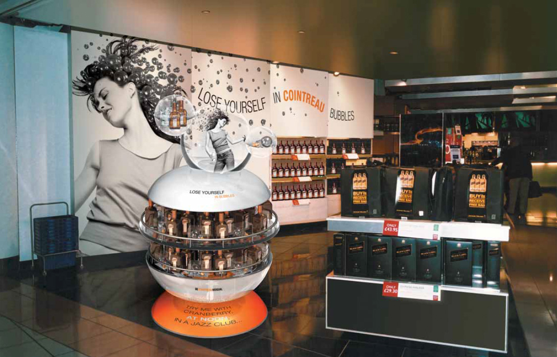 Cointreau retail point of sale