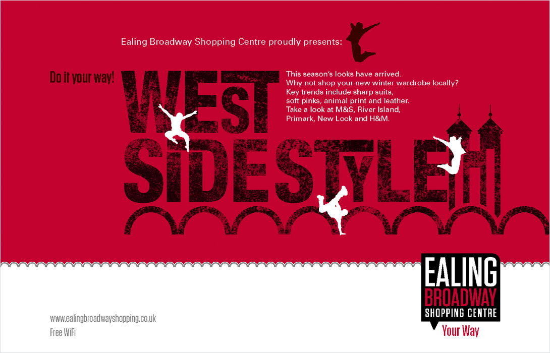 Ealing Broadway WestStyle campaign