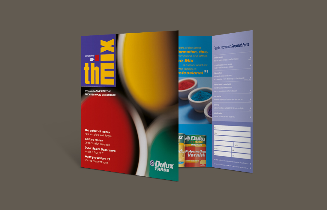 Dulux trade brochure ad