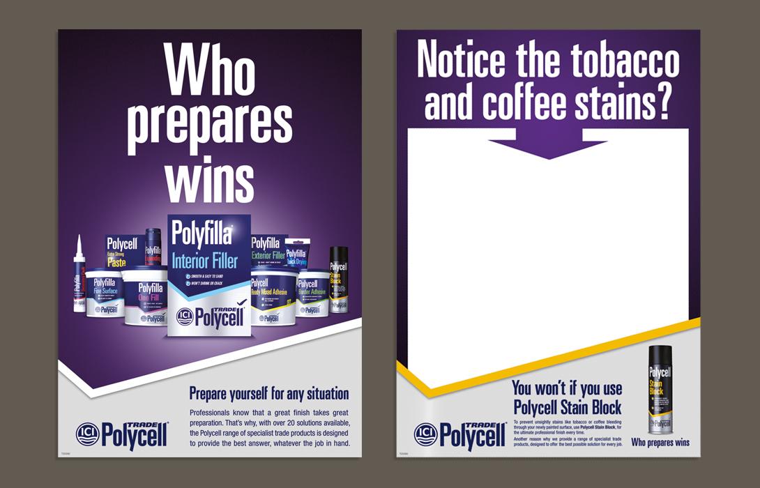 Dulux trade campaign ad
