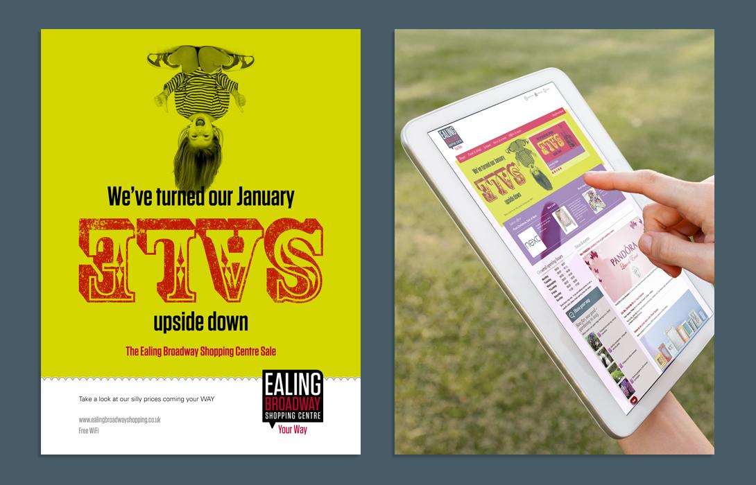 Ealing Broadway SALE poster