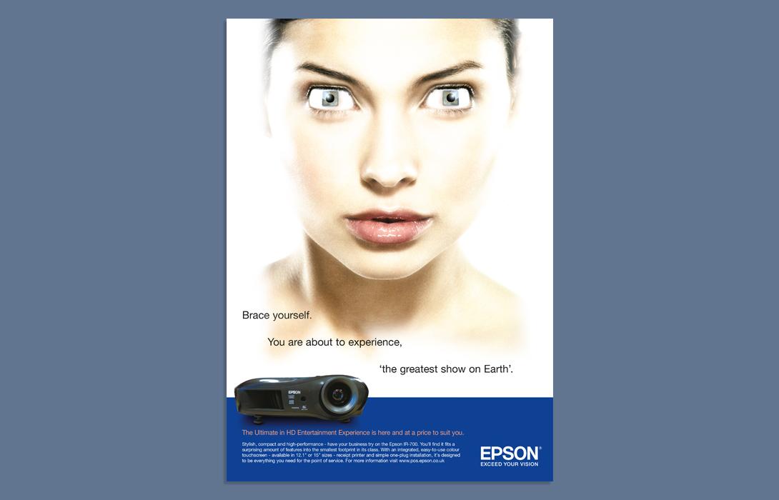 Epson advertising ad