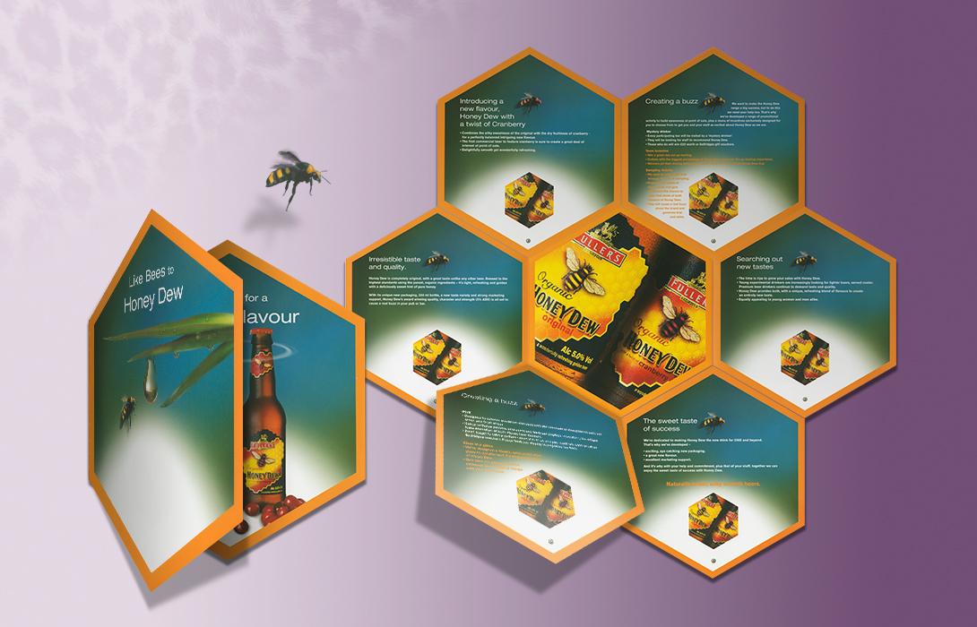 Honey Dew advertising campaign print example