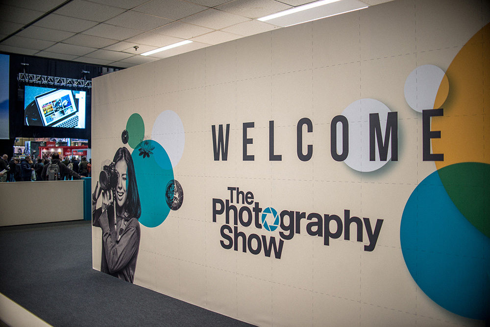 Photography show entrance