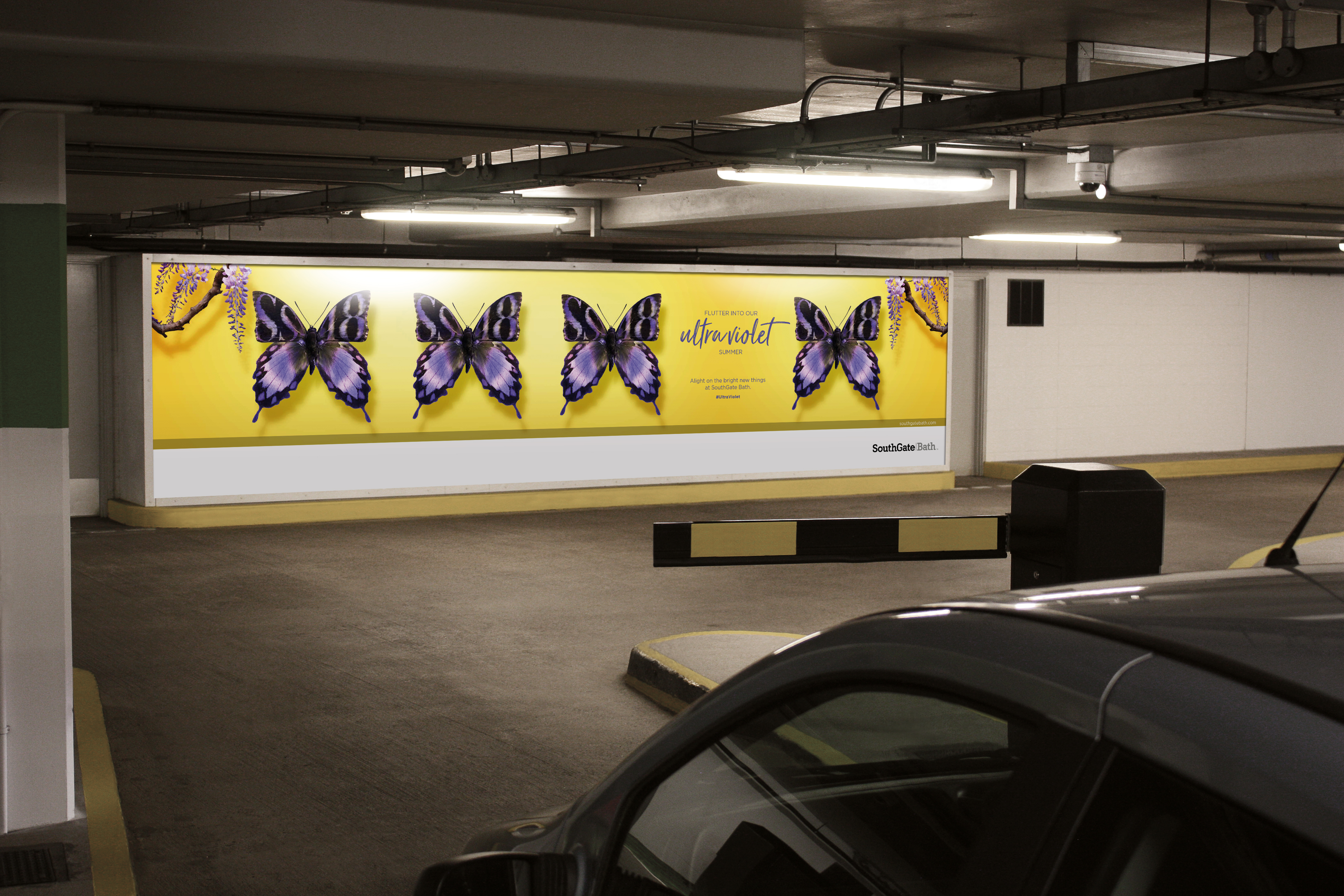 SouthGate Summer underground parking