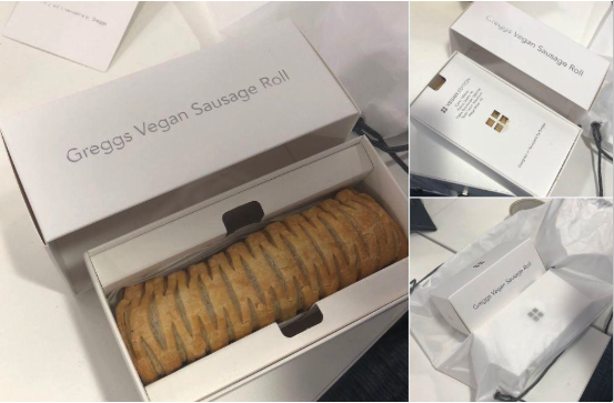 Greggs vegan sausage roll feature