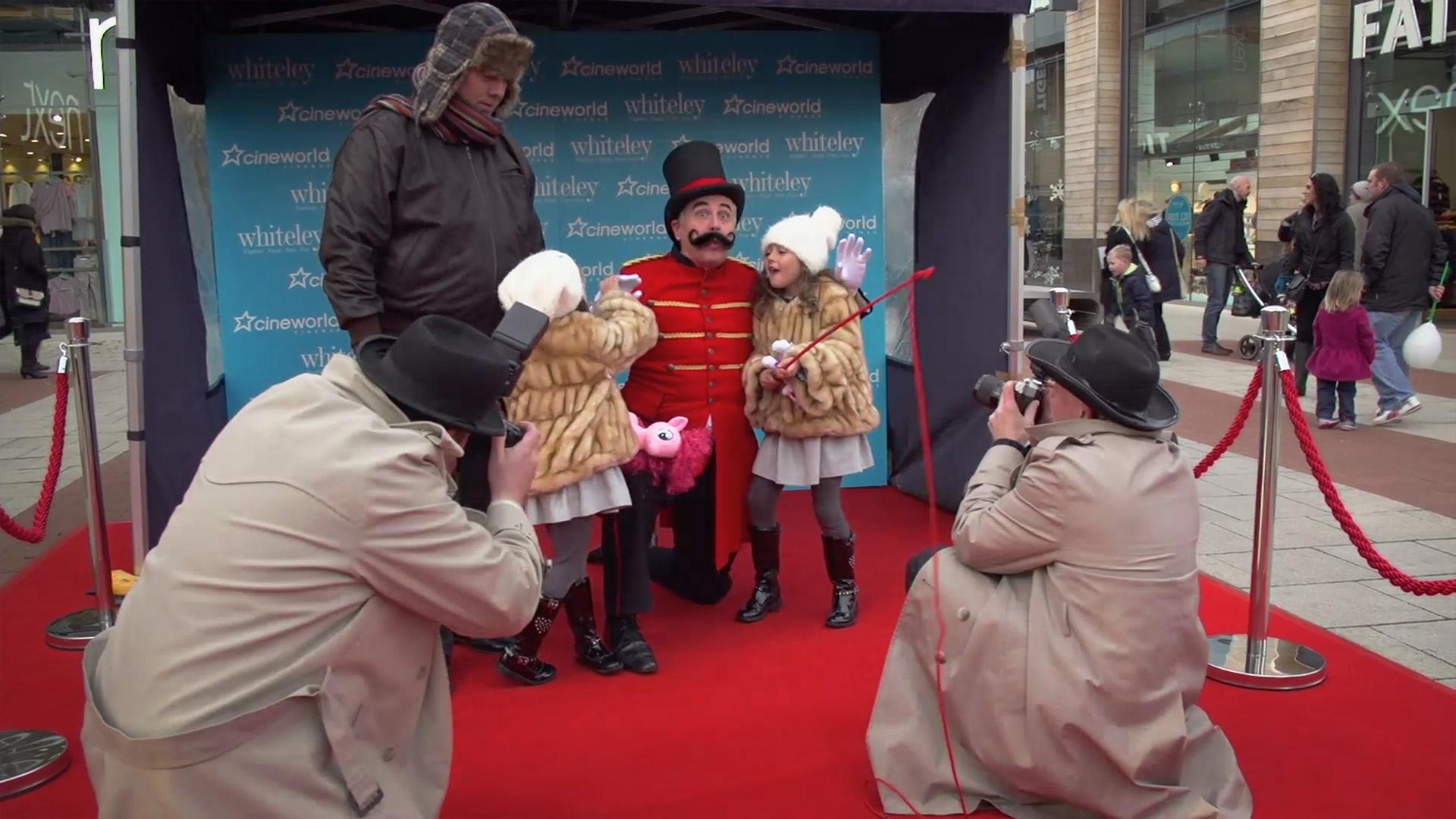 Whiteley Cineworld launch event photographers