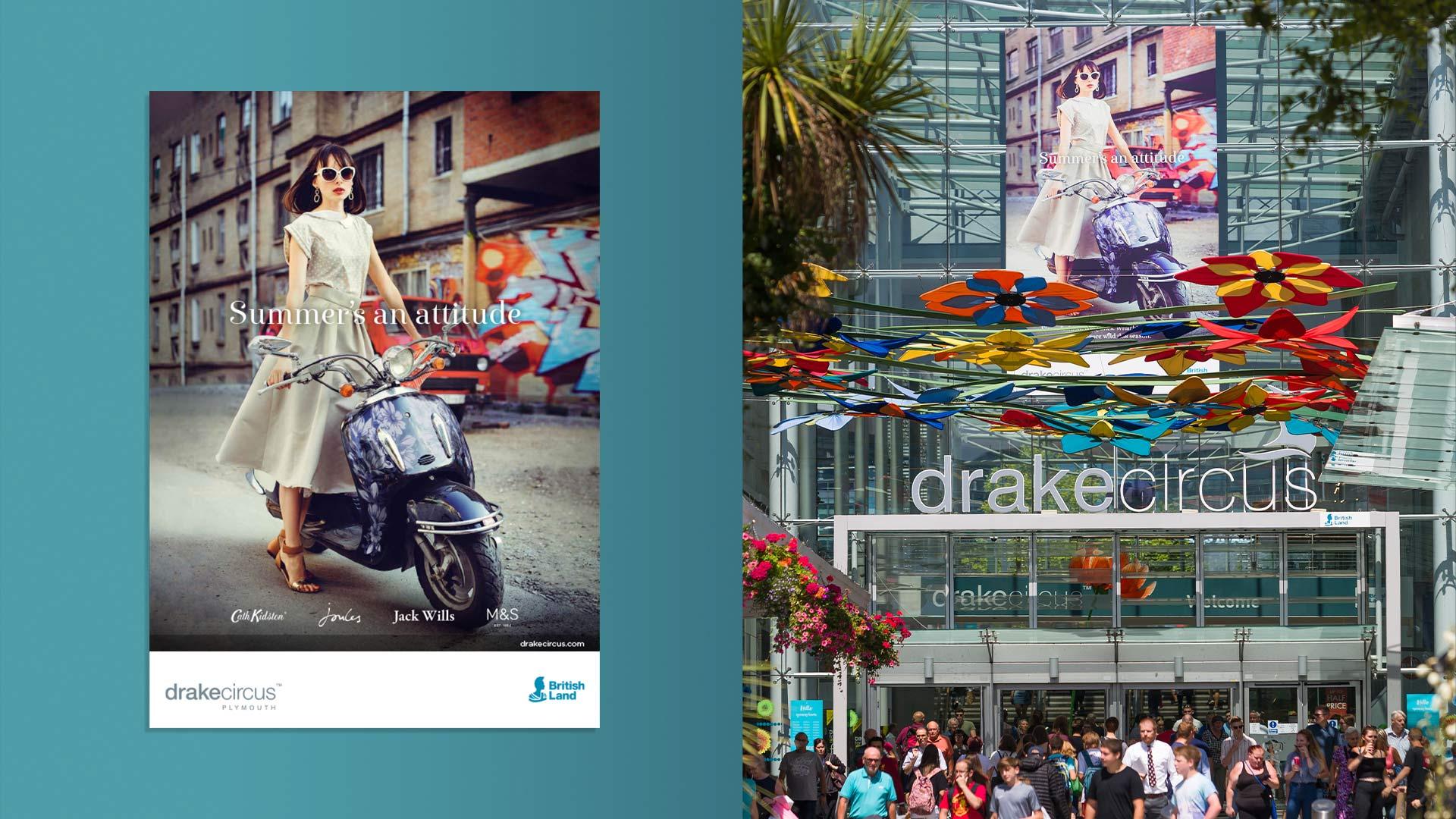 Drake Circus Summer digital 6 sheet and master