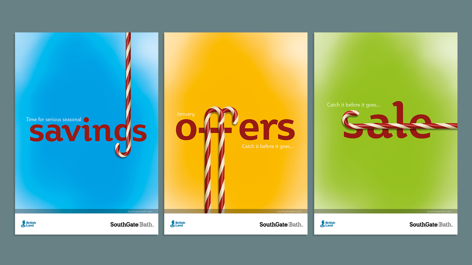 SouthGate January offers creative adverts