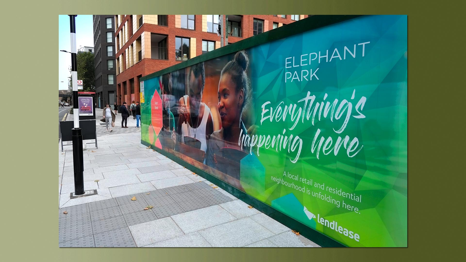 Elephant park Sayer Street photography 6